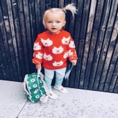 The ♥️ famous Gigi ♥️ avec le petit sac à dos issu de notre collab chérie @hello_simone   Merci @bonjourgeorges pour cette photo qui me met le sourire à tous les coups 😍  The ♥️ famous Gigi ♥️ with the small backpack from our darling @hello_simone collab  Thank you @bonjourgeorges for this photo which makes me smile every time 😍